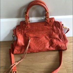 Authentic Rebecca Minkoff Desire satchel in coral